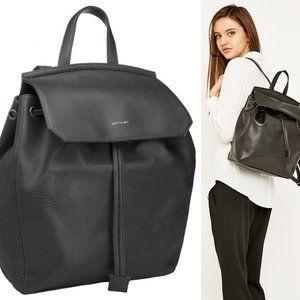 Mint! MATT & NAT Gray Vegan Leather Backpack